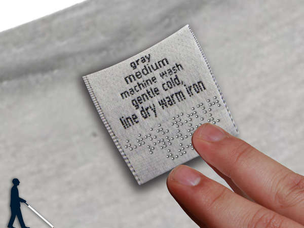 braille clothes tags