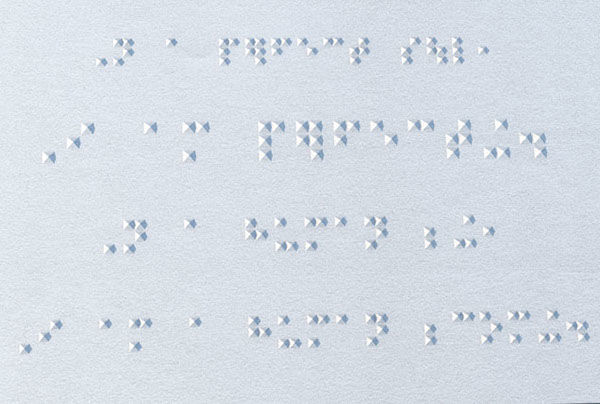 Beautiful Braille Fonts