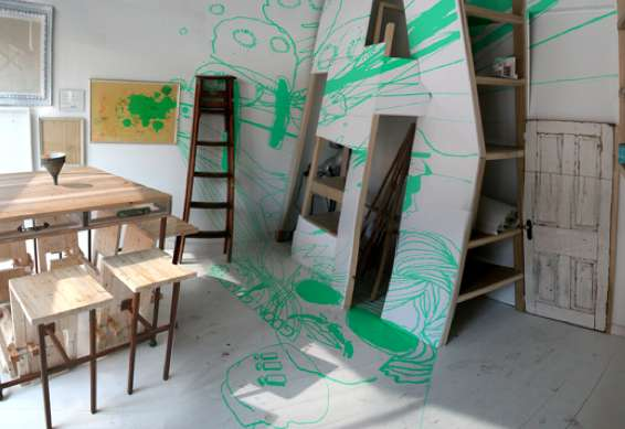 Imaginative Sketchbook Spaces Brainstorming Room