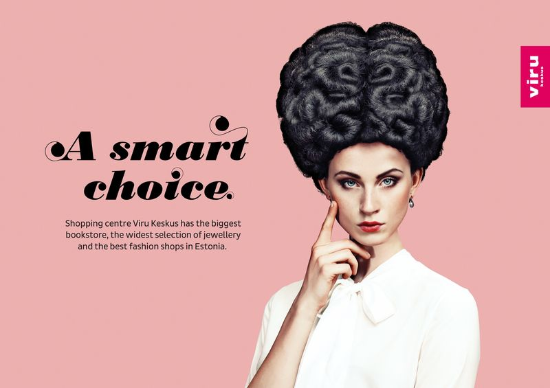 Brainy Hairstyle Ads