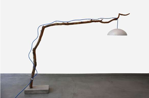 Branch Lamp by Reclaiming Brooklyn