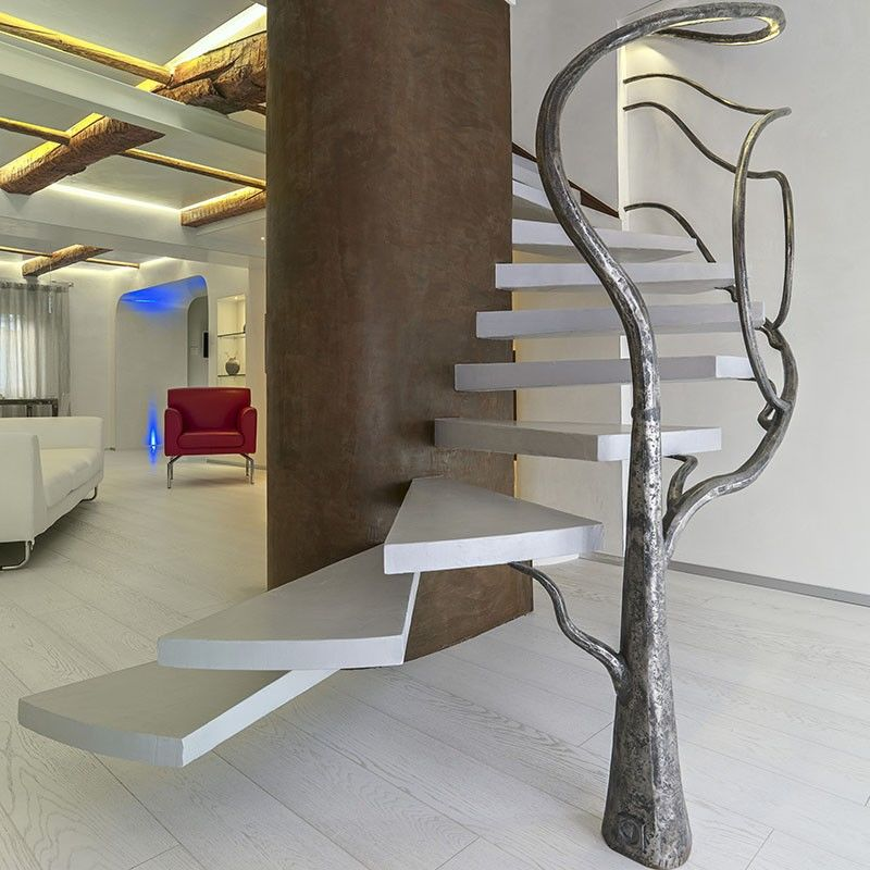 Sculptural Branch Railings
