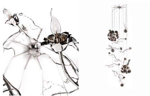 Whimsical Dripping Chandeliers