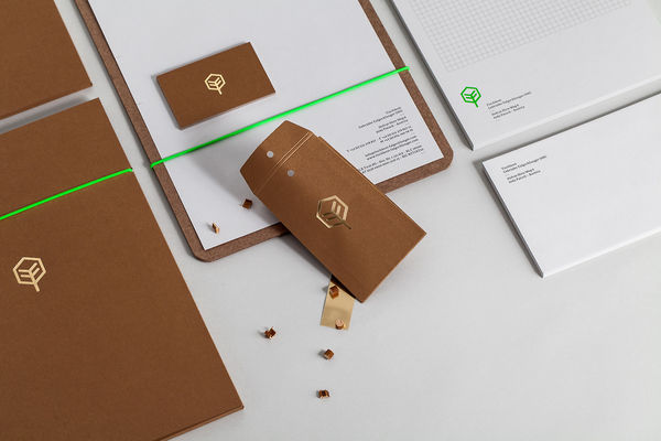 Raw Crafted Branding Identities