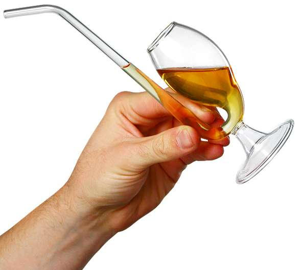 Beverage-Savoring Hybrid Glasses