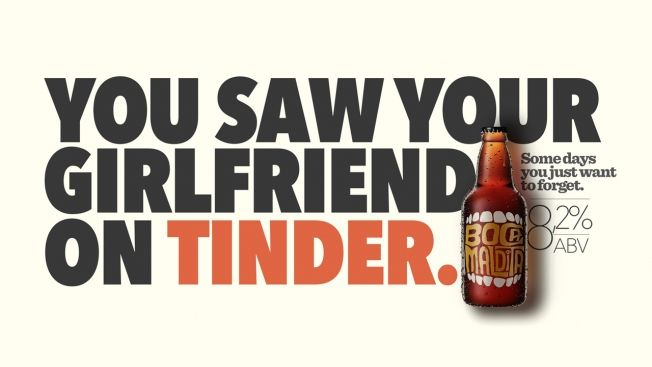 Infidelity-Inspired Beer Ads