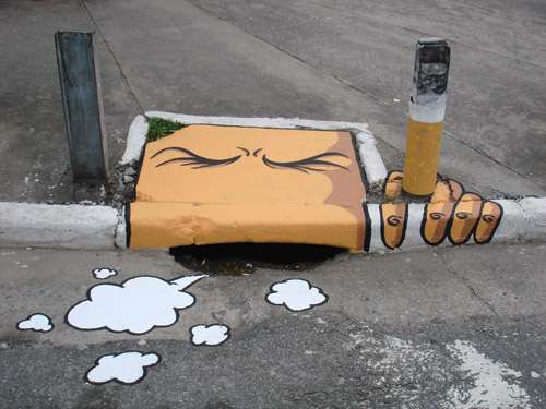 Drainage Graffiti