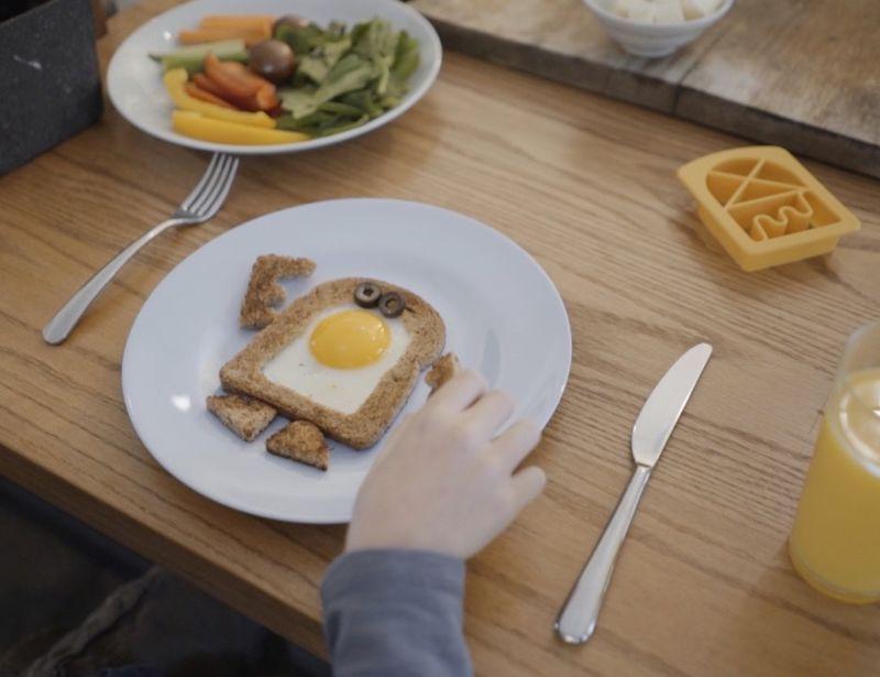 Creative Breakfast Bread Cutters