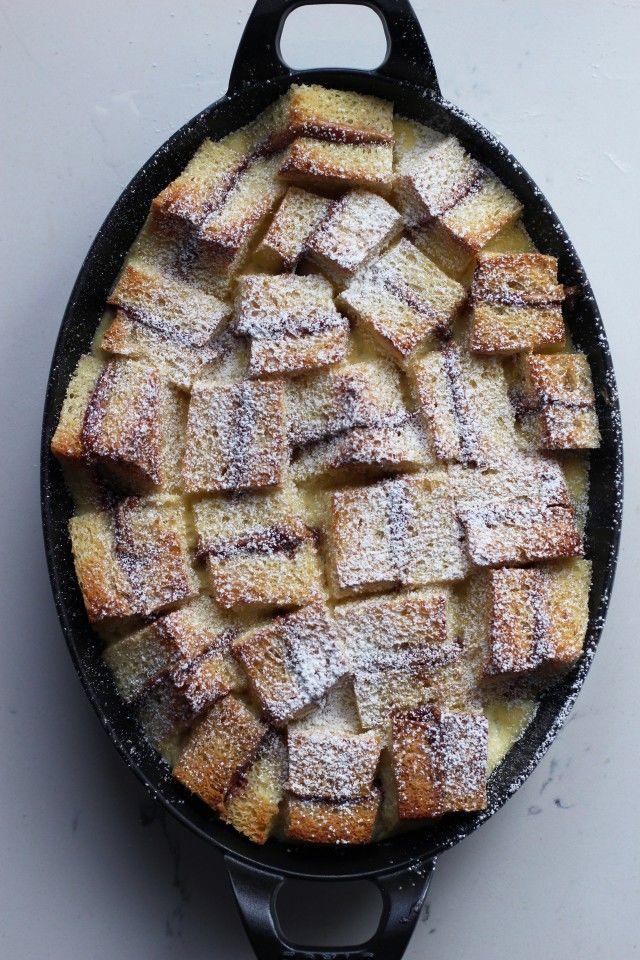 Sandwich Pudding Desserts