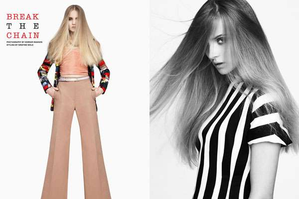 Sleek 70s-Inspired Photoshoots