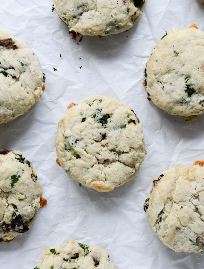 Savory Omelet Scones