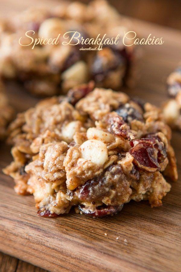 Spiced Breakfast Cookies