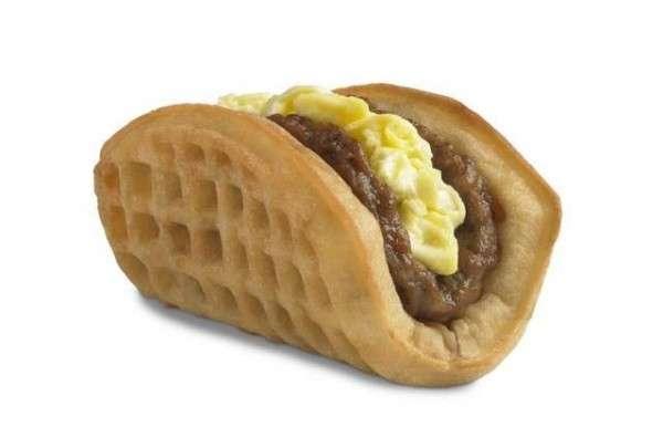 Breakfast Waffle Tacos
