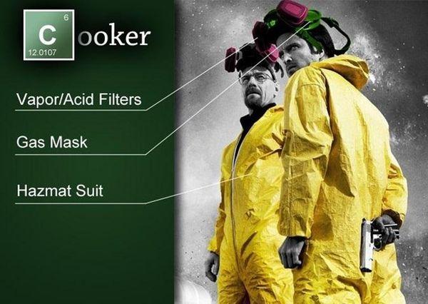DIY Drug Dea... Breaking Bad Gas Mask Costume