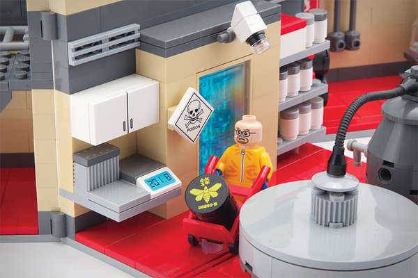Breaking Bad Lego Lab Playset
