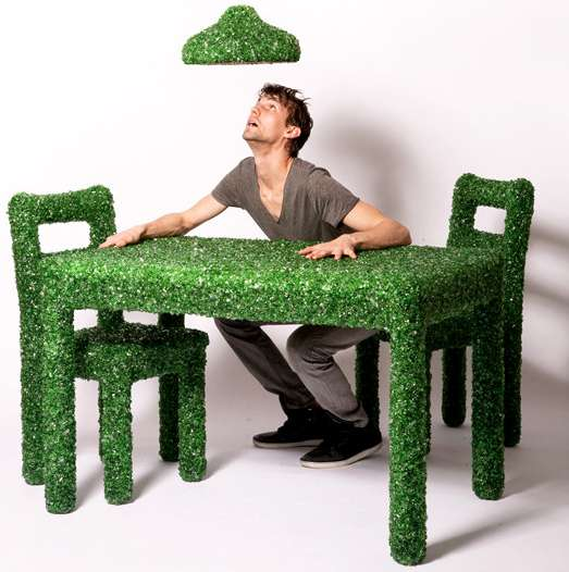 Broken Glass Furniture