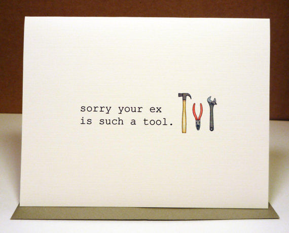 Comical Breakup Cards
