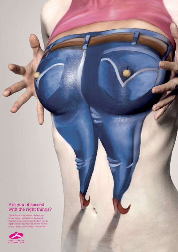 Breast Cancer Foundation Ad