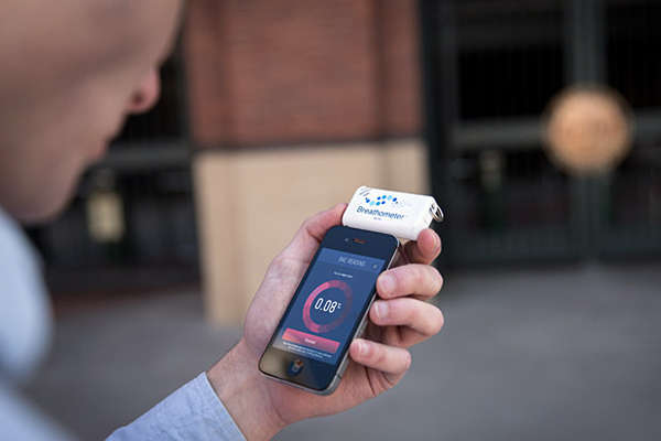 Breathalyzing Smartphone Add-Ons