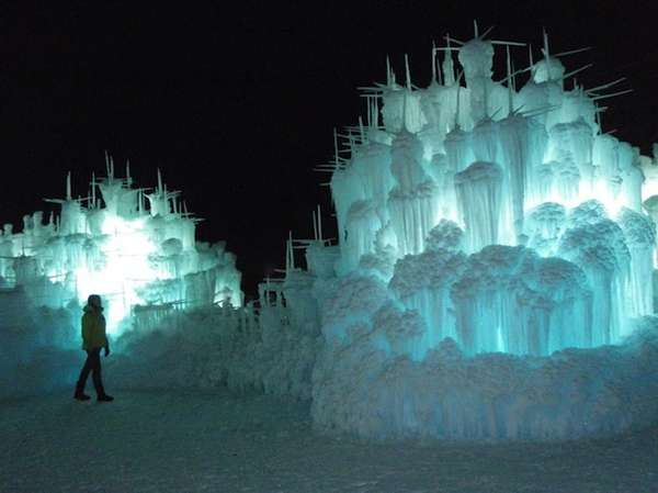 Mesmerizing Ice Palaces