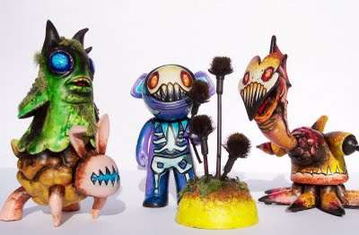 Creepy Action Figures