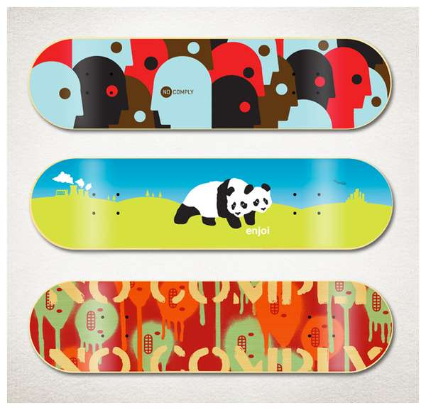 Sweet Skateboard Graphics
