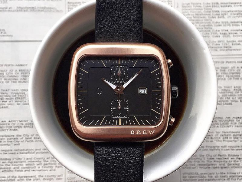 Coffee-Inspired Chronographs