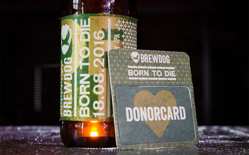 Organ Donation-Supporting Beers