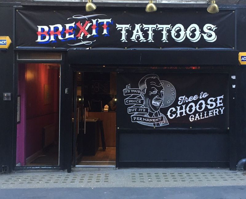 Political Tattoo Parlors
