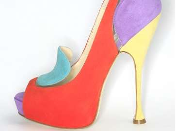 Motley Pastel Pumps