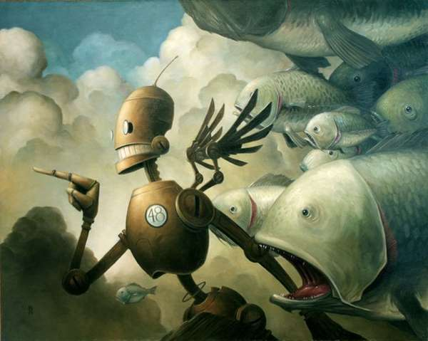 Picturesque Robot Paintings