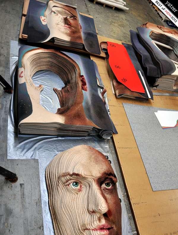 3D Face Carpets