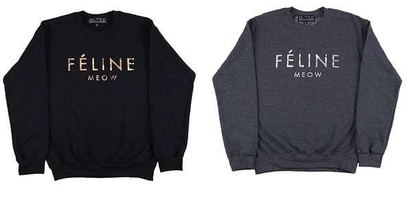 Imposter Feline Sweatshirts