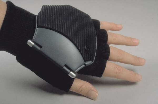 Technical medical diagnostic glove
