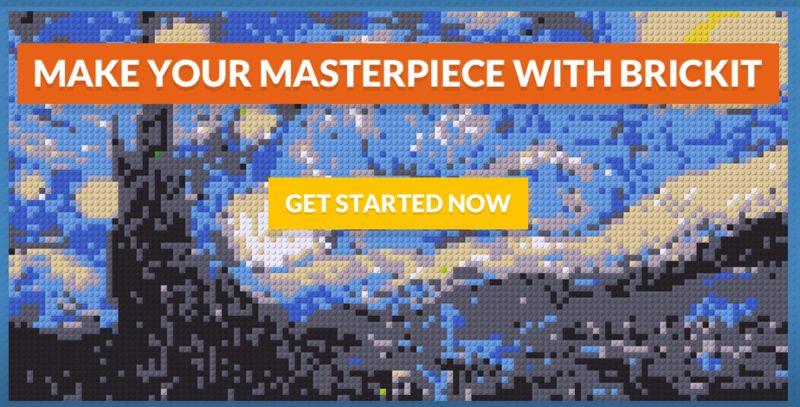 Digital LEGO Mosaics