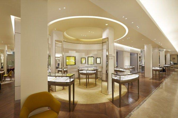 Circular Jewelry Departments
