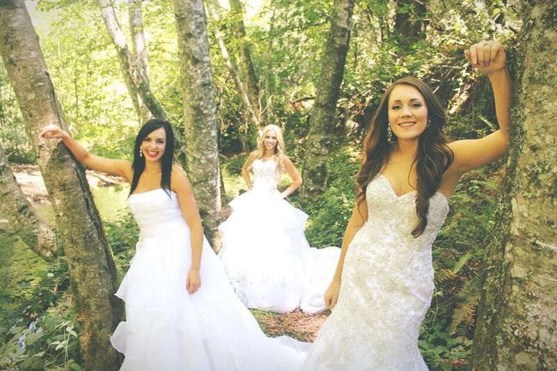 Disney-Themed Bridal Shoots