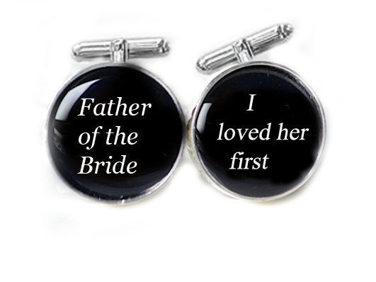 Bride's Father Cufflinks