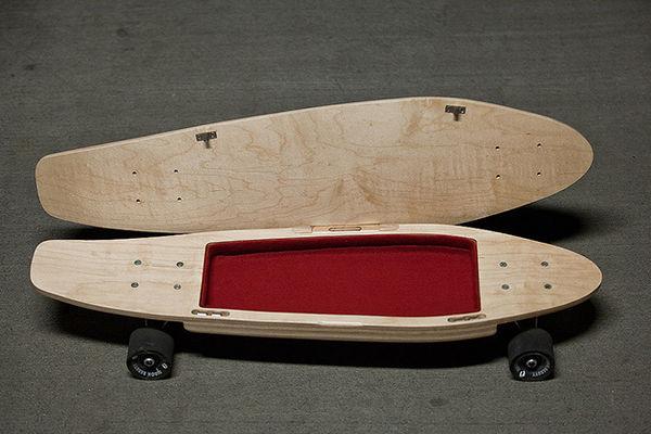 Pocket-Concealing Skateboards