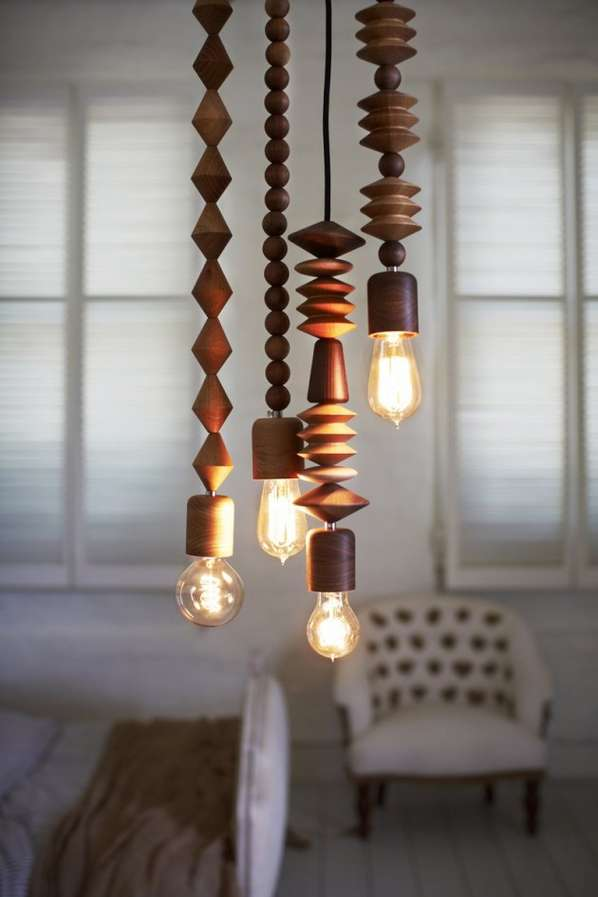 Oversized Jewelry-Like Lamps