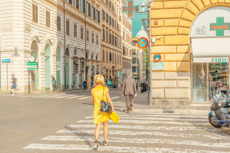 Technicolored City Photography