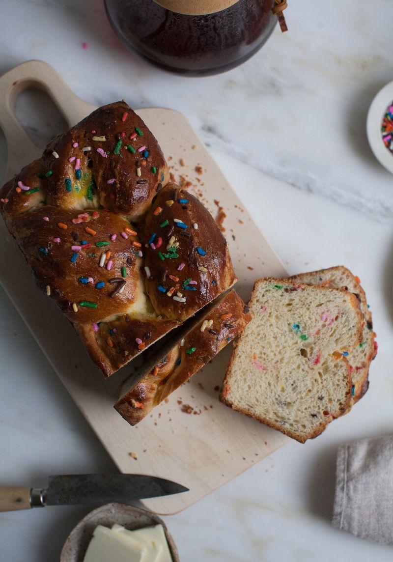 Birthday Brioche Breads