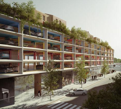 Habitable Car Parks