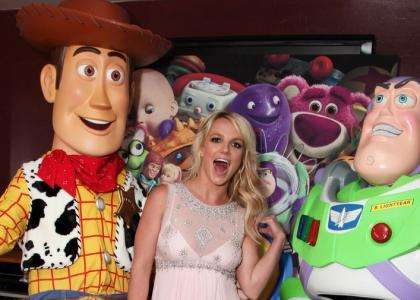 britney spears toy story