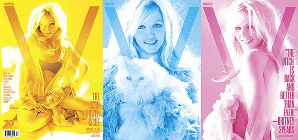 Britney Spears V Magazine
