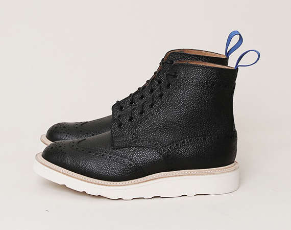 Oxford-Infused Boots