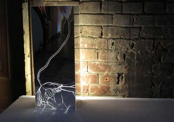 Shattered Glass Art