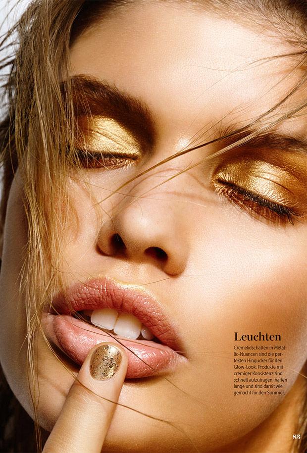Bronzed Makeup Portraits