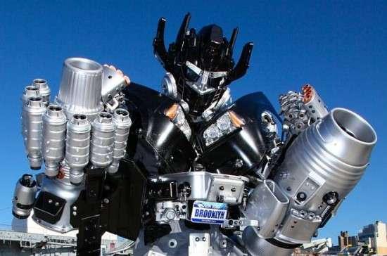 Found Object Robot Replicas