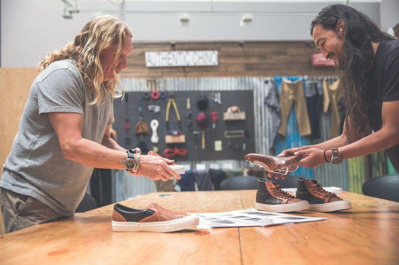 Collaborative Saddle Shoe Designs